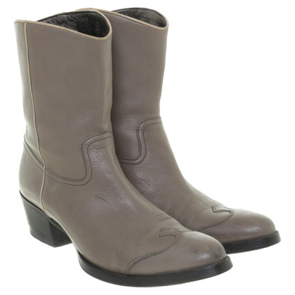 Car Shoe Cowboy boots in Taupe
