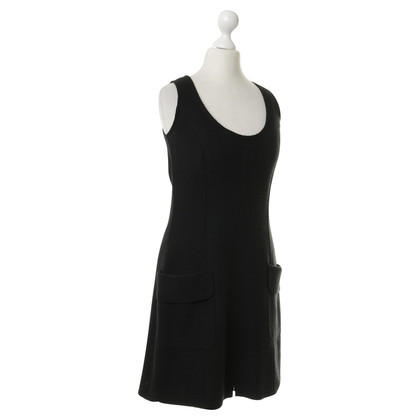 Marc Cain Wool Dress in black