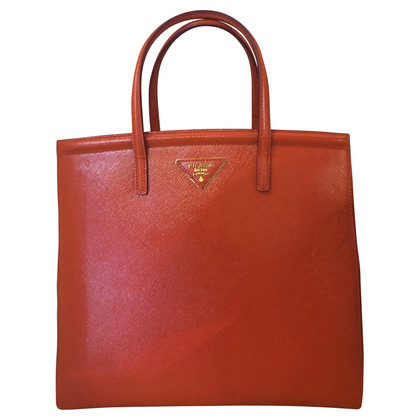 Prada Handtasche in Orange