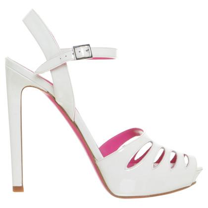 Gianni Versace Sandali in bianco
