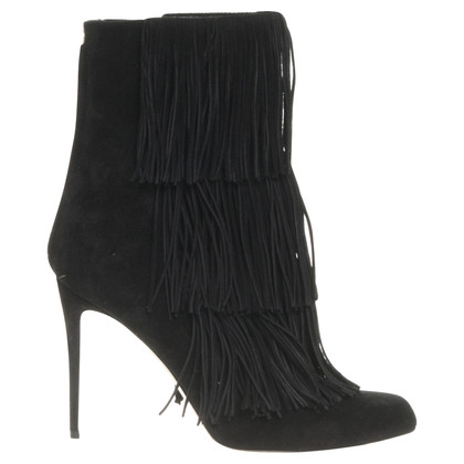 Other Designer Paul Andrew - ankle boots with fringe trim