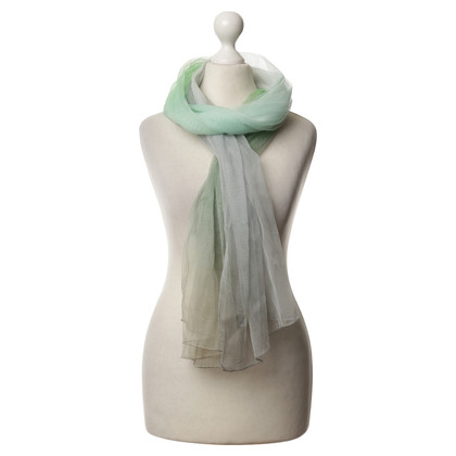 Jil Sander Silk scarf in green