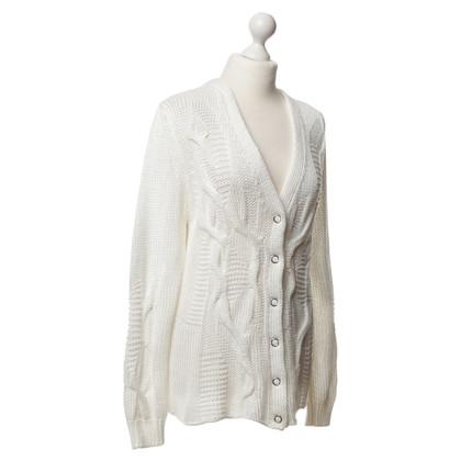 Escada Sweater vest white