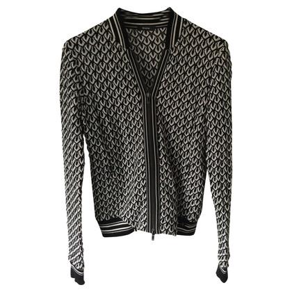 Riani Blazer in maglia in bianco e nero