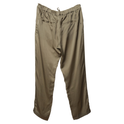 Michalsky Silk trousers in khaki
