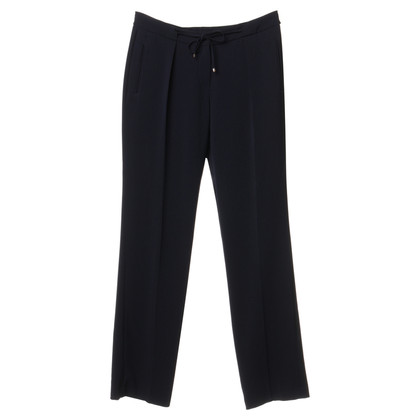 René Lezard Trousers in dark blue