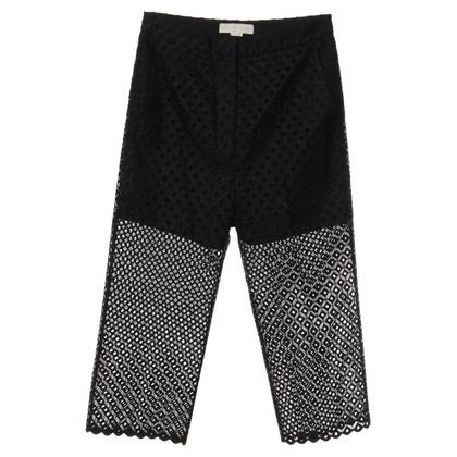 Stella McCartney Pants made of crocheted lace