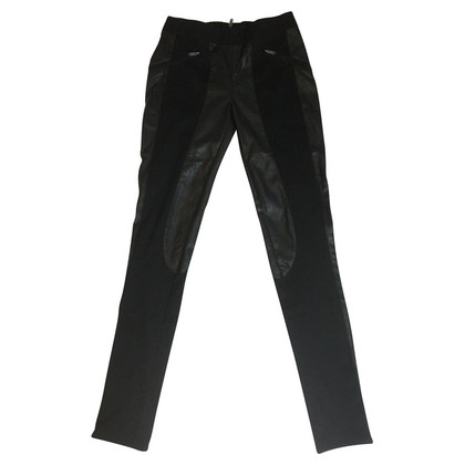 Calvin Klein Pants with trim leather look