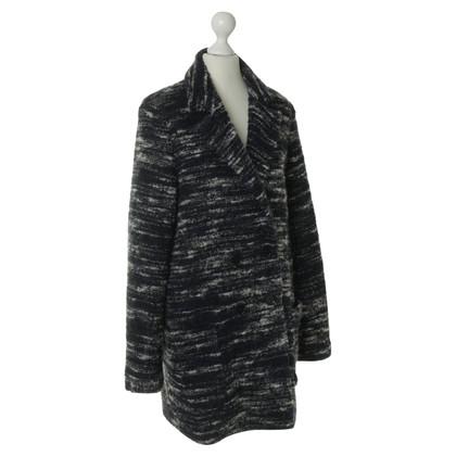 Set Mantel mit Schurwolle
