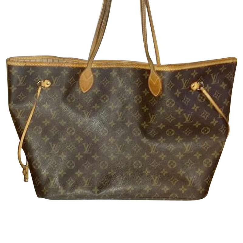 louis vuitton tasche neverfull gm second hand louis. Black Bedroom Furniture Sets. Home Design Ideas