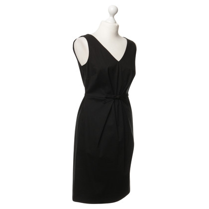 Moschino Black dress with wiping detail
