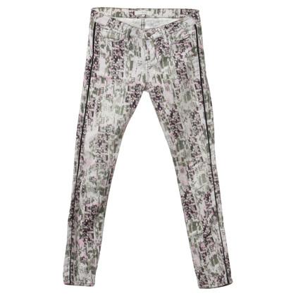 Iro Jeans met creatief afdrukken