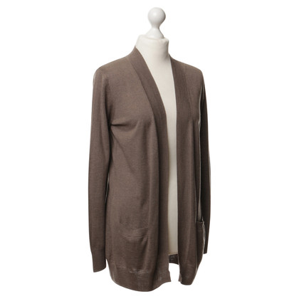 Snobby Strickjacke in Taupe