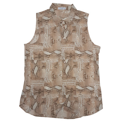 Equipment Blouse met snake print