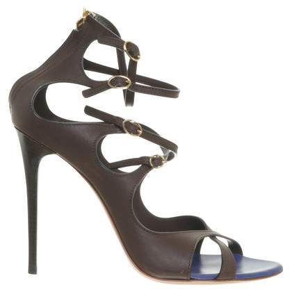 Gianmarco Lorenzi Sandals in Brown