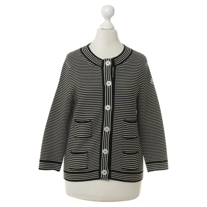 Moncler Cardigan with stripes Imaging