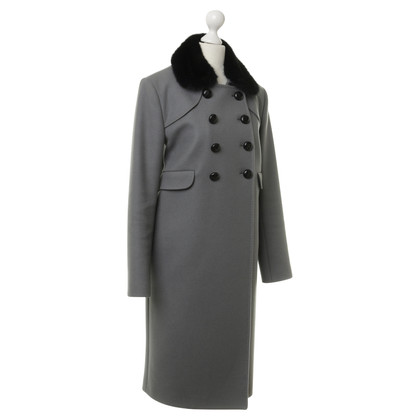 Fendi Coat with mink collar
