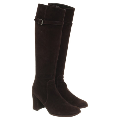 JOOP! Suede boots in Brown