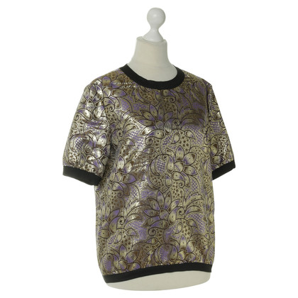 Marni for H&M top in Brocade optics