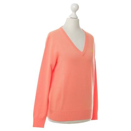 Ralph Lauren Cashmere sweater in neon-Orange