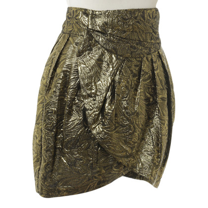 Isabel Marant Rock in Metallicgold