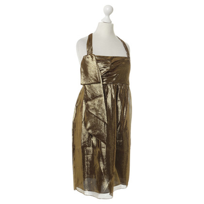 Vera Wang Dress in metallic-look