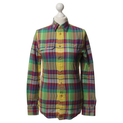 Polo Ralph Lauren Toegewezen katoenen blouse