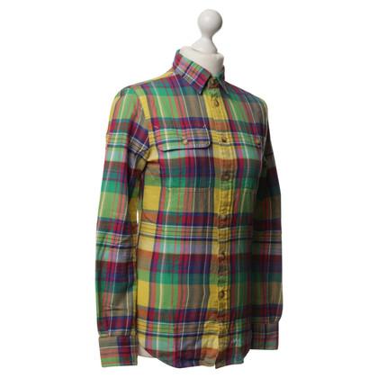 Polo Ralph Lauren Mapped cotton blouse