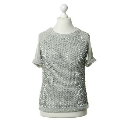 Manoush Pullover with metallic trim