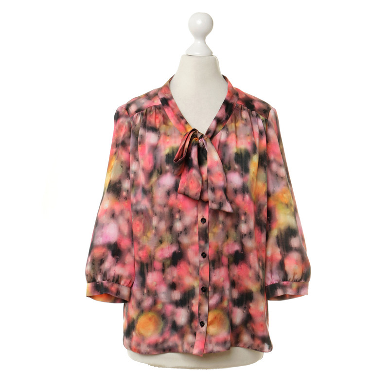 Mulberry Blouse with button