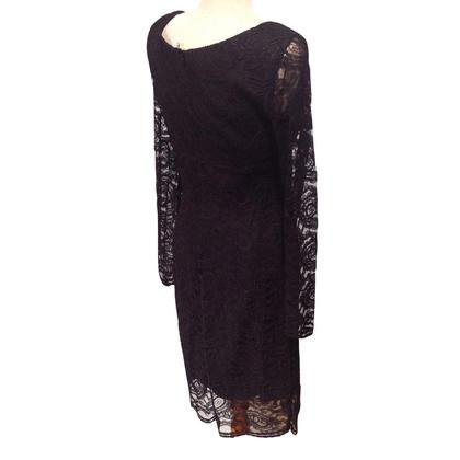 Piu & Piu Zwarte jurk