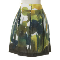 Max Mara skirt with expressionistic print