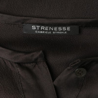 Strenesse Silk blouse in dark brown