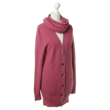 Bogner Cardigan and scarf cashmere