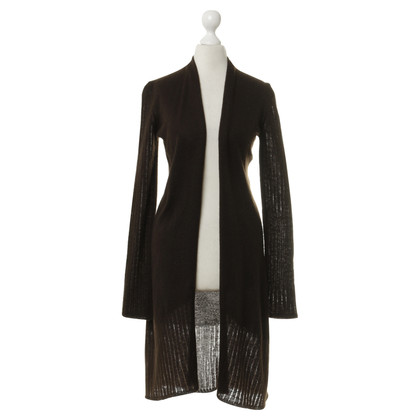 UMA cachemire Cashmere coat in dark brown