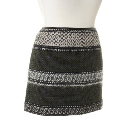 Edun Mini skirt with patterns