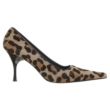 Luciano Padovan Pumps with Leo-print