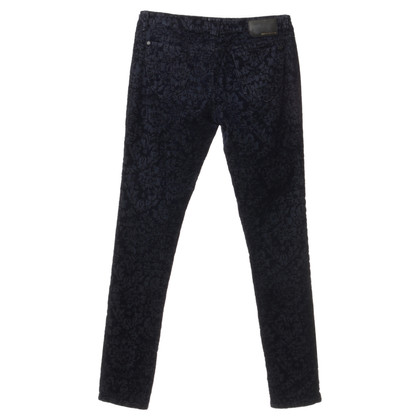 DKNY Jeans with velvet pattern