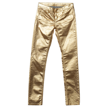 Faith Connexion Pantaloni in oro