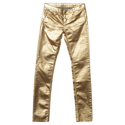 Faith Connexion Trousers in gold