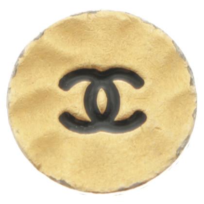Chanel Knoppen met logo in reliëf