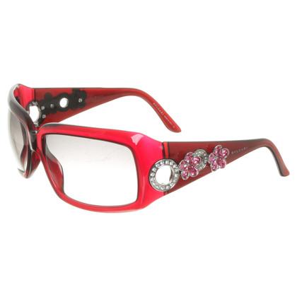 Bulgari Sonnenbrille mit Blüten-Deko