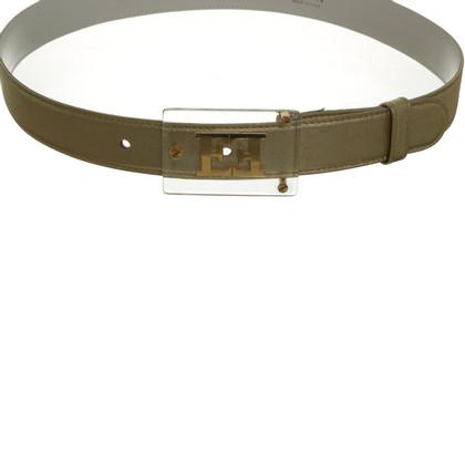 Escada Belt with logo buckle