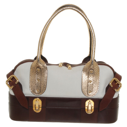 Chloé Handbag with metallic details