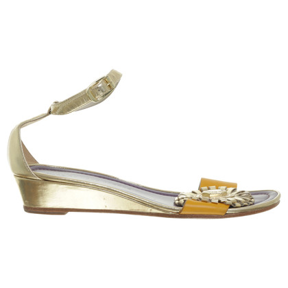 Marc by Marc Jacobs Sandals with gold metallic