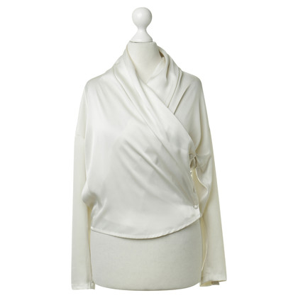 Barbara Bui Wrap blouse in cream