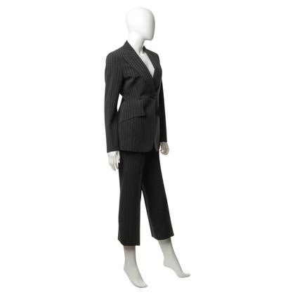 Dolce & Gabbana Tailleur pantalone con strisce