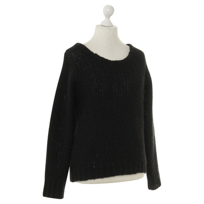 American Vintage Pullover in Schwarz