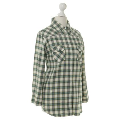 Paul & Joe Katoenen blouse met Plaid