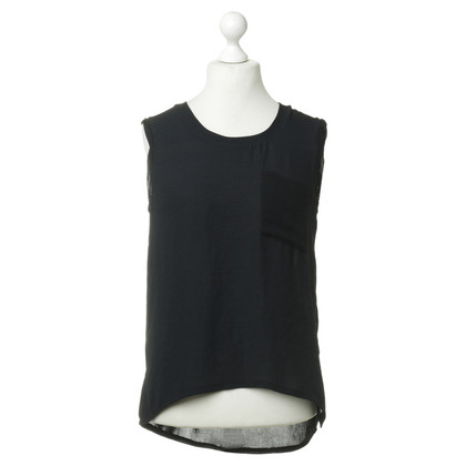 American Vintage Top in Schwarz
